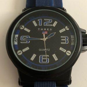 Very nice men's Tre3 watch